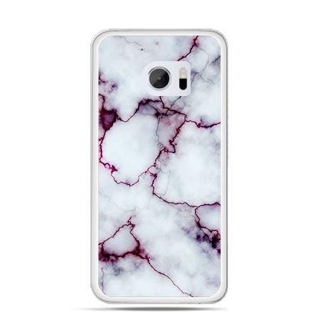Etui na telefon HTC 10 różowy marmur