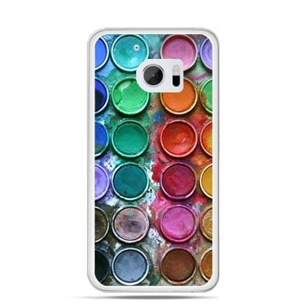 Etui na telefon HTC 10 kolorowe farbki