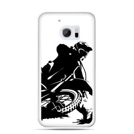 Etui na telefon HTC 10 motocykl cross