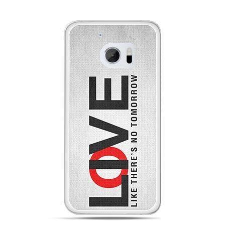 Etui na telefon HTC 10 LOVE LIVE