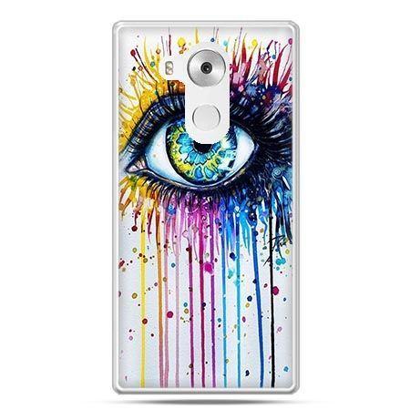 Etui na telefon Huawei Mate 8 kolorowe oko