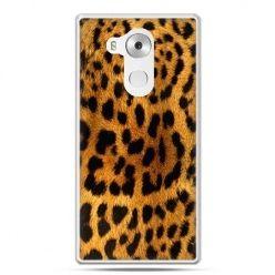Etui na telefon Huawei Mate 8 skóra lamparta