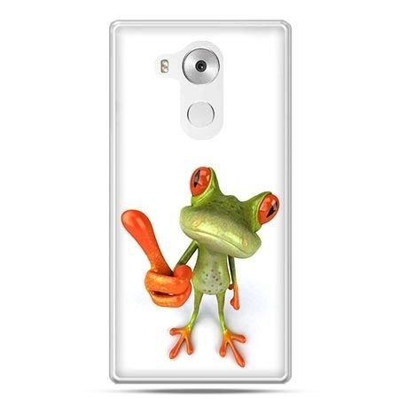 Etui na telefon Huawei Mate 8 śmieszna żaba