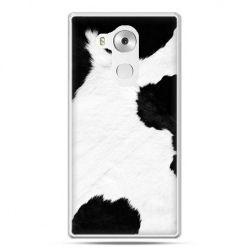Etui na telefon Huawei Mate 8 łaciata krowa