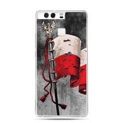 Etui na telefon Huawei P9 patriotyczne - flaga Polski