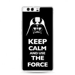 Etui na telefon Huawei P9 Keep calm and use the force