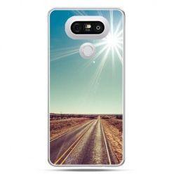 Etui na telefon LG G5 słoneczna autostrada