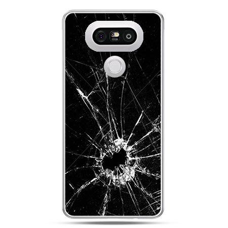 Etui na telefon LG G5 rozbita szyba