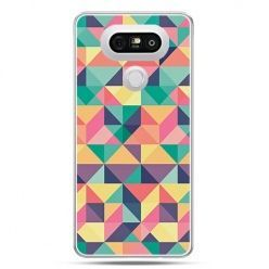 Etui na telefon LG G5 kolorowe trójkąty