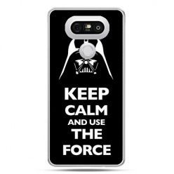 Etui na telefon LG G5 Keep calm and use the force