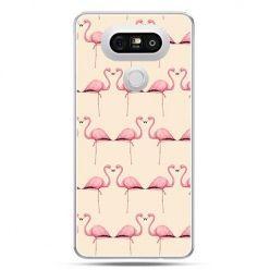 Etui na telefon LG G5 flamingi