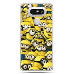 Etui na telefon LG G5 Minionki grupa
