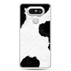 Etui na telefon LG G5 łaciata krowa