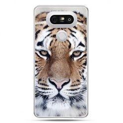 Etui na telefon LG G5 śnieżny tygrys
