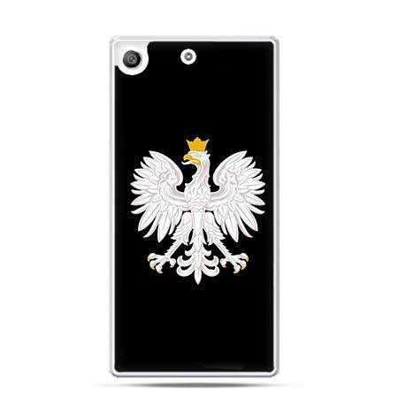 Etui na telefon Xperia M5 Polski Orzeł Godło patriotyczne