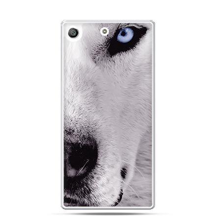 Etui na telefon Xperia M5 wilk