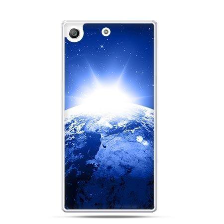 Etui na telefon Xperia M5 planeta ziemia