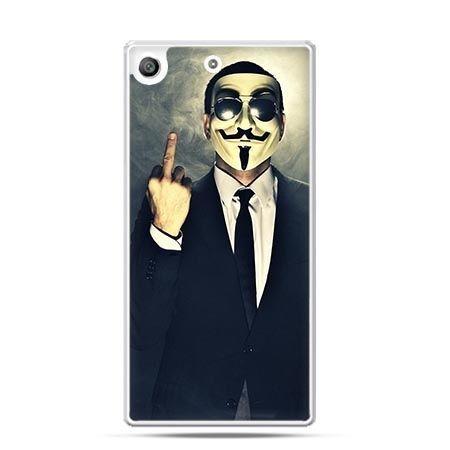 Etui na telefon Xperia M5 Anonimus Fuck You