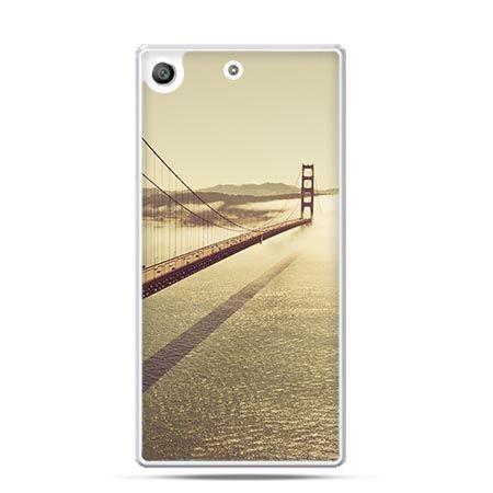 Etui na telefon Xperia M5 Goldengate