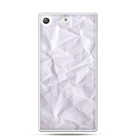 Etui na telefon Xperia M5 pomięty papier