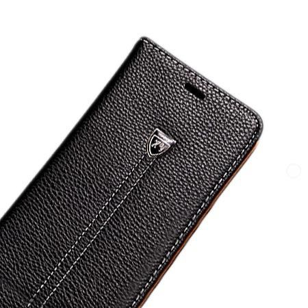 Etui na LG K8 portfel z klapką na karty kredytowe - czarne. PROMOCJA!!!