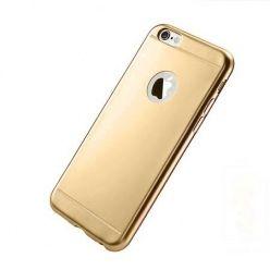 Etui na iPhone 6 / 6s silikonowe platynowane Full - złote.