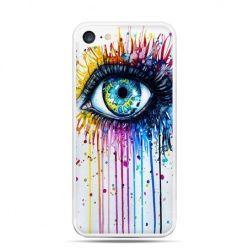 Etui na telefon iPhone 7 - kolorowe oko