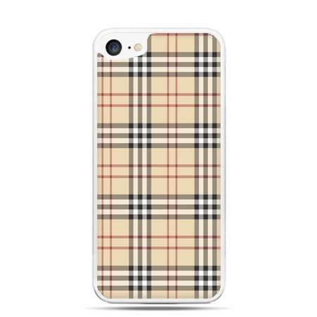 Etui na telefon iPhone 7 - kratka Burberry