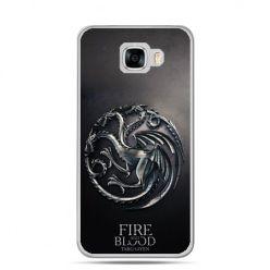 Etui na telefon Samsung Galaxy C7 - Gra o Tron Targaryen house herb