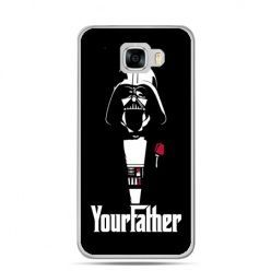 Etui na telefon Samsung Galaxy C7 - Your Father star wars