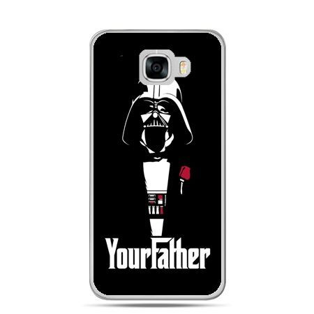 Etui na telefon Samsung Galaxy C7 - Your Father star wars