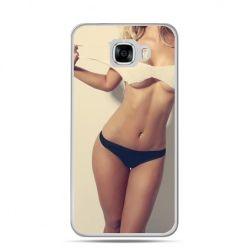 Etui na telefon Samsung Galaxy C7 - kobieta w bikini