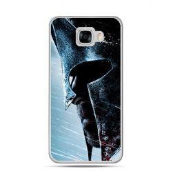 Etui na telefon Samsung Galaxy C7 - hełm Spartan