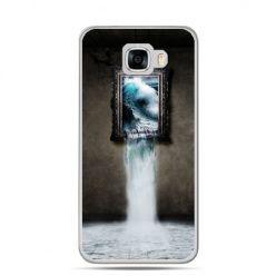 Etui na telefon Samsung Galaxy C7 - obraz wodospad