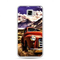Etui na telefon Samsung Galaxy C7 - retro pick-up