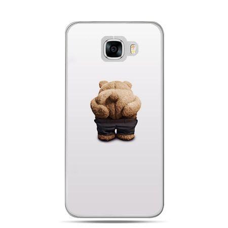 Etui na telefon Samsung Galaxy C7 - miś Paddington