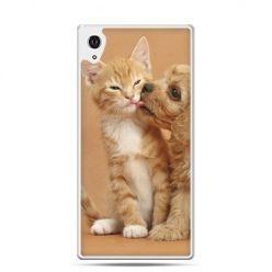 Etui na telefon Sony Xperia XA - jak pies i kot