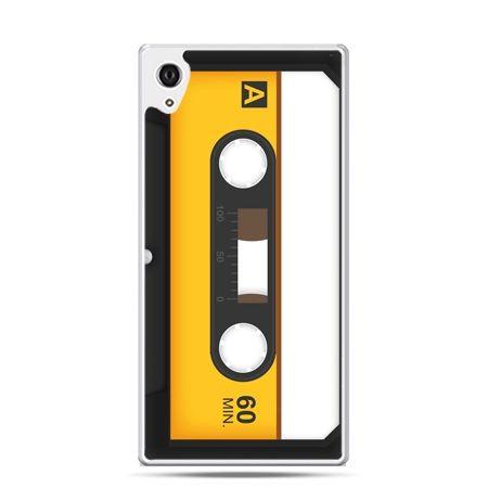 Etui na telefon Sony Xperia XA - kaseta magnetofonowa