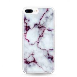 Etui na telefon iPhone 7 Plus - różowy marmur