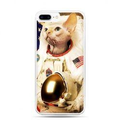 Etui na telefon iPhone 7 Plus - kot astronauta