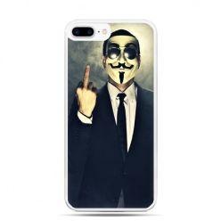 Etui na telefon iPhone 7 Plus - Anonimus Fuck You