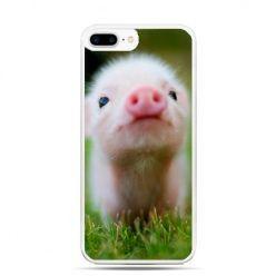 Etui na telefon iPhone 7 Plus - świnka
