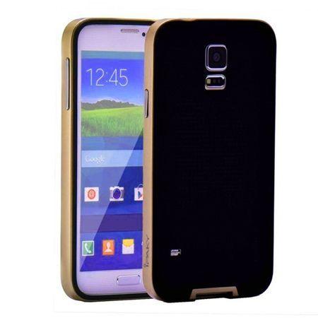 Etui na Galaxy S5 Neo  bumper Neo - złoty.