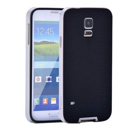 Etui na Galaxy S5 Neo  bumper Neo - srebrny.