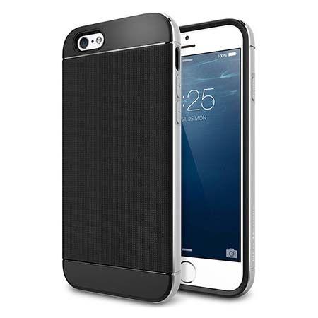 Etui na iPhone 6 / 6s bumper Neo - srebrny.