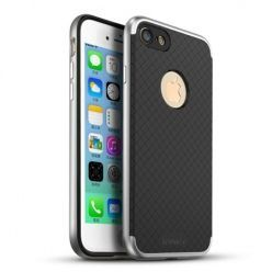Etui na iPhone 7 bumper Neo - srebrny.