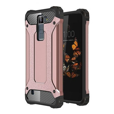 Pancerne etui na LG K8 2016 - różowy.