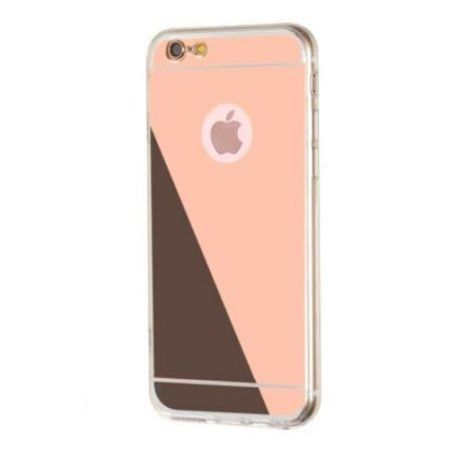 iPhone 6 Plus / 6s Plus lustro - etui lustrzane - mirror silikonowe TPU - Rose Gold.