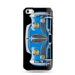 Etui na telefon niebieski samochód
