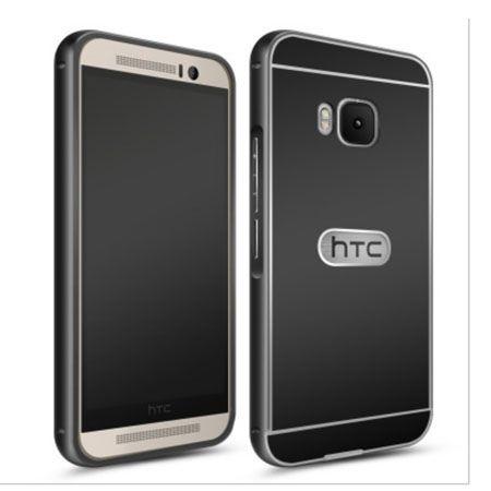 HTC One M9 etui aluminium bumper case czarny.
